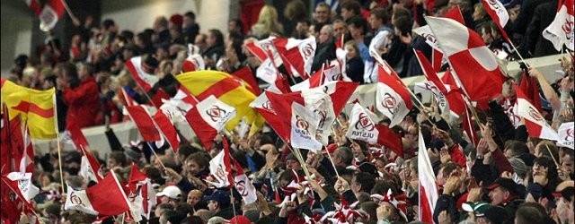 The ground has been split in two, with 9,000 Ulster fans allocated seats in the Northern halves of the Anglesea Stand and new Grandstand, plus the North Stand behind the posts.....[read more]