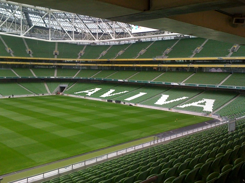 Ulster Rugby Supporters Club View From Aviva