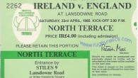 The prize draw for a pair of tickets to both the 2013 Six Nations matches in Dublin will be made on Sunday 6th January.....[read more]