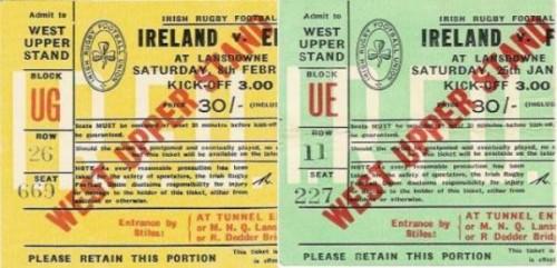 Ireland tickets