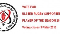 Vote by emailing us on ulsterrugbysupportersclub@hotmail.com or come along to the URSC tent at the Cardiff match to vote in person.....[read more]