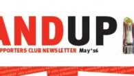 The latest edition of Stand Up – a 10th anniversary edition –  has now been printed and will be distributed as soon as possible.   However to save time and postage, those members who are attending the Leinster match […]