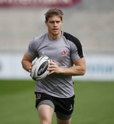 Andrew Trimble will make his return against Bordeaux on Sunday