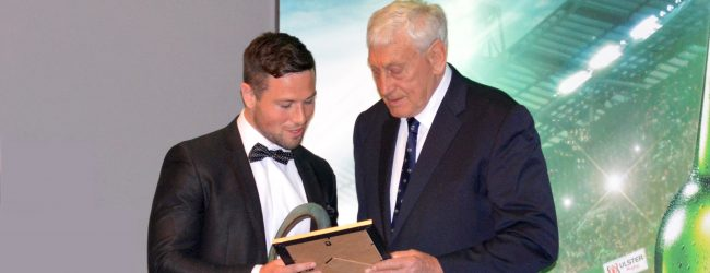 IN A LANDSLIDE VICTORY, THE WINNER WAS, JOHN COONEY URSC President Willie John McBride presented John with the famous Bob Sloan sculpted award at the Ulster Rugby Awards Dinner. He also handed over the now mandatory framed caricature by legendary […]